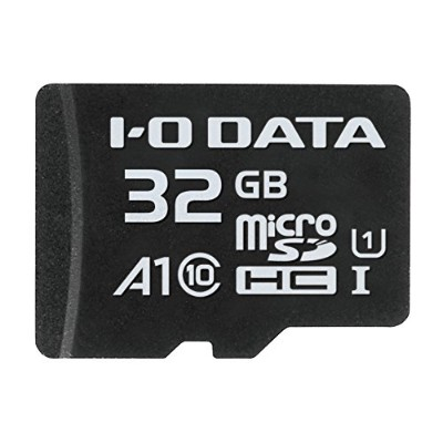 I-O DATA microSDカード 32GB/Application Performance Class 1/UHS-I スピードクラス1対応/MSDA1-32G