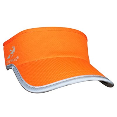 (One Size, Hi Viz Orange) - Headsweats Supervisor Sun Visor