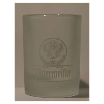 Jagermeister Frosted 1oz Promotionalショットガラス