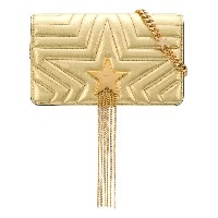 Stella McCartney Stella star shoulderbag - メタリック