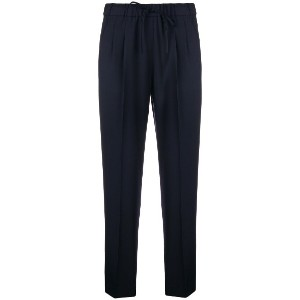Max Mara cropped tailored trousers - ブルー