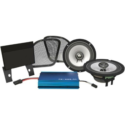 【HOGTUNES】 225W/2ch フロントスピーカー&アンプキット FLTRX/S