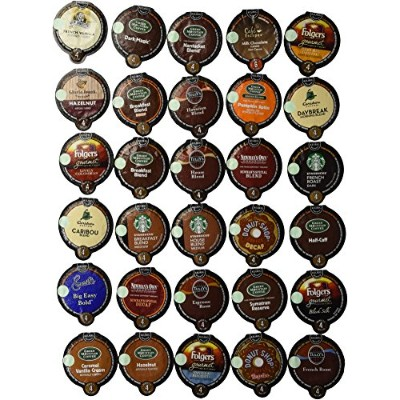 30-count VUE Pack for Keurig VUE Brewers ALL Coffee Variety Pack Featuring Starbucks, Green...
