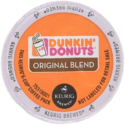 32 Count - Dunkin Donuts Original Flavor Coffee K-Cups For Keurig K Cup Brewers (2 boxes of 16 k...