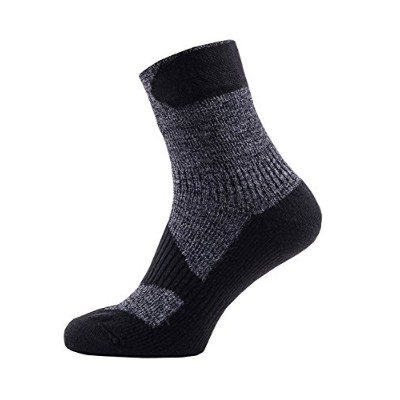 SealSkinz(シールスキンズ) アウトドア ソックス Walking Thin Ankle 11167WTA02 Dark Grey/Black XL