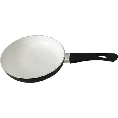 Wee 's Beyond 6322–24Wee HealthyセラミックFry Pan withシリコンハンドル、9.5インチ、ブラック