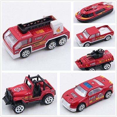 at-mizhi 1: 64Die Cast Vehicleギフトセット再生Vehicles Race Car Toys、6個入りfor Kids Boys or Girls Free...