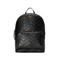 Gucci GG Marmont matelassé backpack - ブラック