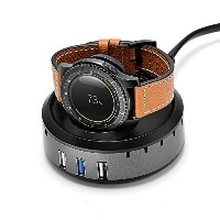 VICARA for Samsung Gear S3充電アダプター Gear S3 バンド充電器 スマートウォッチ Gear S3用 充電器 Charging Dock Samsung...
