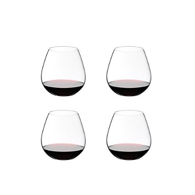 (Set of 4) - Riedel O Pinot Noir/Burgundy/Nebbiolo Wine Tumblers, Set of 4