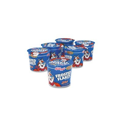 Breakfast Cereal, Frosted Flakes, Single-Serve 2.1oz Cup, 6 Cups/Box (並行輸入品)