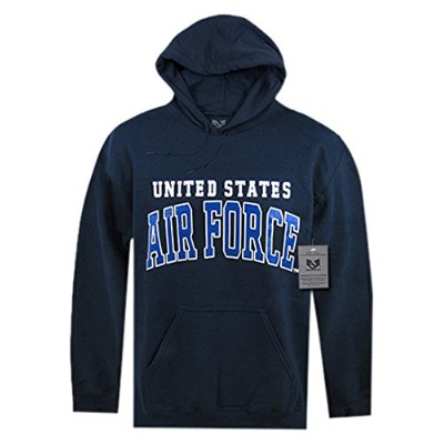 Rapid Dominance S46-AIR-NVY-03 Military Pullover Hoodies44; Navy - Large