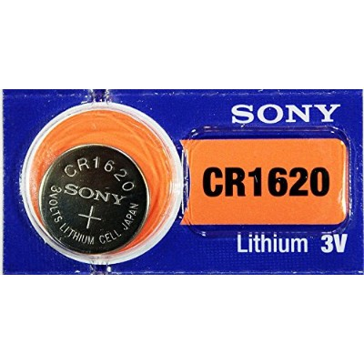 1 Pile SONY CR1620 Lithium 3Volts