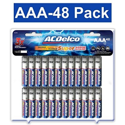 ACDelco AAA Super Alkaline Batteries, 48-Count by ACDelco [並行輸入品]