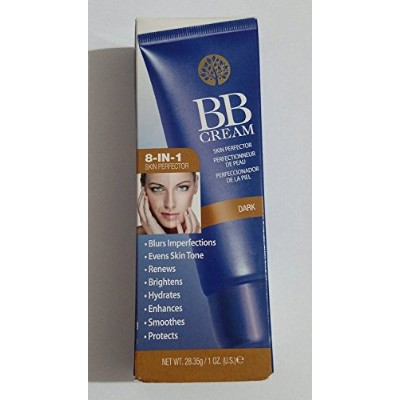 Skin Perfector BB Cream 8-in-1 Foundation Dark by Living Source