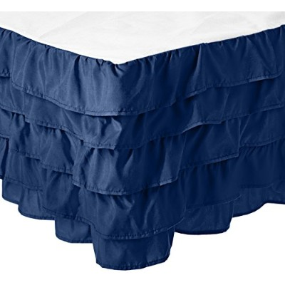 (Queen, Navy Blue) - Elegant Comfort Luxurious Premium Quality 1500 Thread Count Wrinkle and Fade...