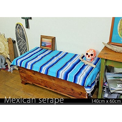 RUG&PIECE Mexican Serape made in mexcico ネイティブ メキシカン サラペ メキシコ製(rug-6097)