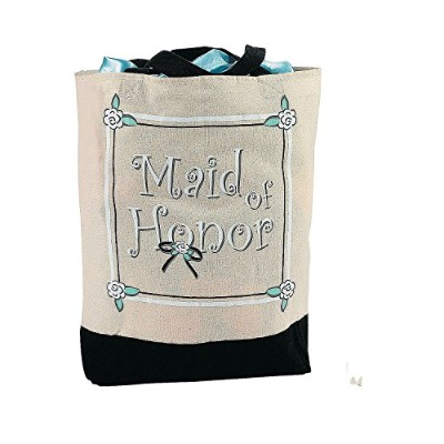 """"""" Maid of Honor """" Tote Bag 2パック"""