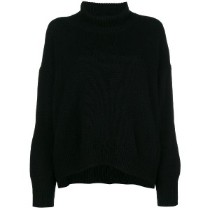 Ermanno Scervino turtleneck sweater - ブラック