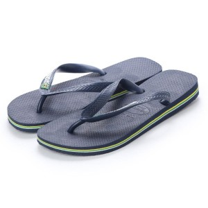 【SALE 20%OFF】ハワイアナス havaianas BRASIL LOGO (kids sizes) (navy blue)