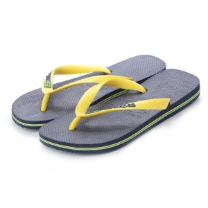 【SALE 20%OFF】ハワイアナス havaianas BRASIL LOGO (kids sizes) (navy blue/citrus yellow)