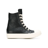 Rick Owens lace-up hi-top sneakers - ブラック