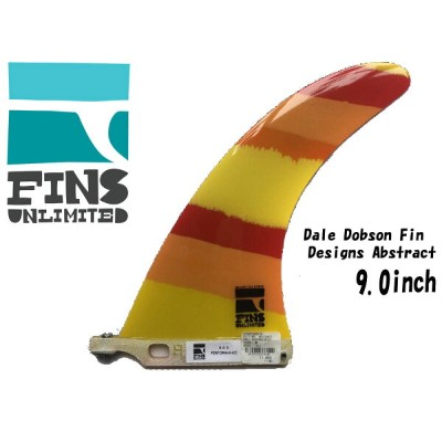 "【FINS UNLIMITED】フィンズアンリミテッド フィンアンリミテッド FU FINS 9.0"" D PERFORMANCE 9"" ABSTRACT DALE DOBSON DD LONG..."
