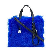 Marc Jacobs The Fur Mini Grind tote - ブルー