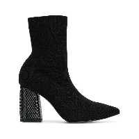 Pollini pointed ankle boots - ブラック