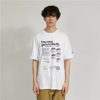 (NB公式) ≪ログイン購入で最大8%ポイント還元≫ RACE GOES TO THE FIT Tシャツ メンズ > アパレル > ライフスタイル > トップス ホワイト・白 ニューバランス...