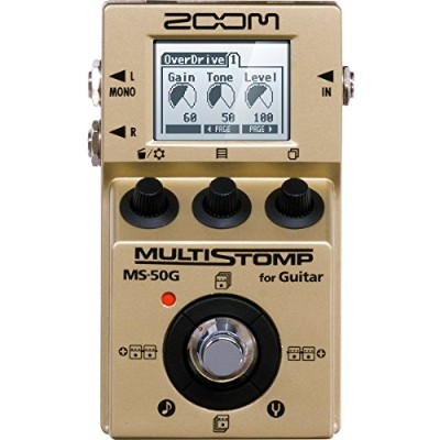 ZOOM/MS-50G-I MultiStomp Guitar Pedal Gold Limited