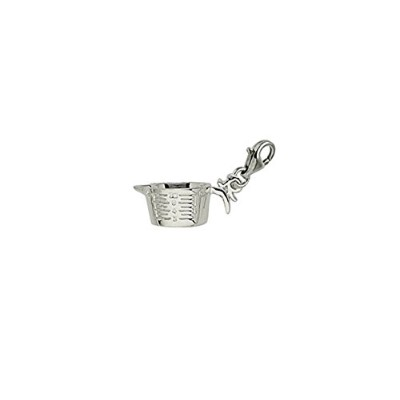 Measuring Cup Charm with Lobster Claw Clasp、チャームブレスレットとネックレス用