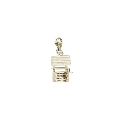 Wishing Well Charm with Lobster Claw Clasp、チャームブレスレットとネックレス用
