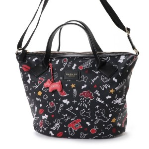 【SALE 50%OFF】ラドリー RADLEY SUGAR & SPICE 2WAYバッグ (BLACK) レディース