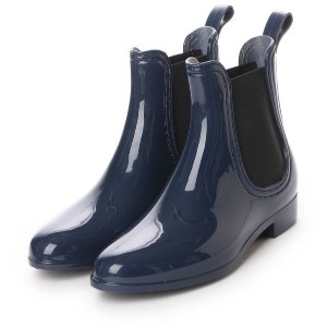フォーパ パリ FAUX PAS PARIS CHELSEA BOOTS (Dark Blue) レディース