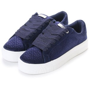 【SALE 30%OFF】ゲス GUESS DILLEMA LOW-TOP SNEAKERS (NAVY) レディース