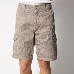 【SALE 50%OFF】ゲス GUESS PALM PATTERN SHORT (HUKH MAXI PALM PRINT)