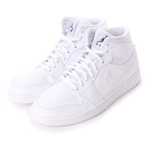 【SALE 10%OFF】ナイキ NIKE Kinetics AIR JORDAN 1 MID (WHITE) メンズ