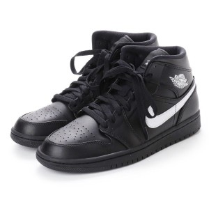 【SALE 20%OFF】ナイキ NIKE kinetics AIR JORDAN 1 MID (BLACK) メンズ