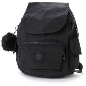 キプリング Kipling CITY PACK S (true dazz black) レディース