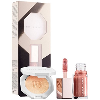【並行輸入品】FENTY BEAUTY BY RIHANNA Bomb Baby Mini Lip and Face Set