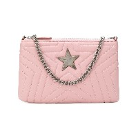 Stella McCartney Stella star clutch bag - ピンク&パープル
