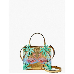 kate spade new york/ケイト・スペード  BY THE POOL FLAMINGO SCENE SMALL SAM(PXRU8943) MULTI(974) 【三越・伊勢丹/公式】...