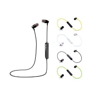 Bluetooth Headphones, Wireless Earphones with Noise Cancelling Microphone, Sweatproof in-ear...