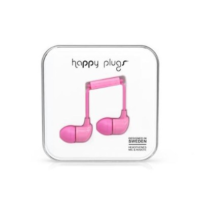 Happy Plugs IN-EAR-PINK-7717 ファッショナブルイヤホン In-Ear ピンク