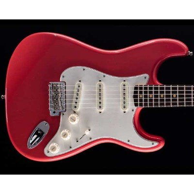 Fender Custom Shop 2018 Postmodern Stratocaster Journeyman Relic Faded Aged Fiesta Red