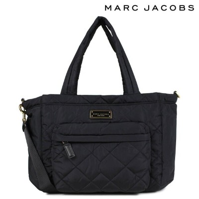 MARC JACOBS QUILTED NYLON TOTE マークジェイコブス トートバッグ バッグ マザーズバッグ レディース ブラック M0011380 [7/9 新入荷]