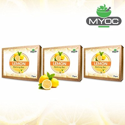 Lemon Oil And Vitamin E Astringent Soap, deodorant, antiseptic soap for clogged pores and acne...