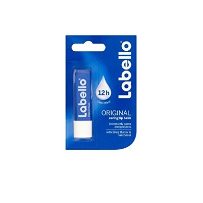 Labello Original Caring Lip Balm with Shea Butter and Panthenol 4.8g/5.5ml - ラベロオリジナルキャッピングリップクリーム...
