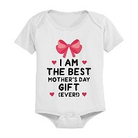 Cute Pre-shrunk Cotton Snap-on Style Baby Bodysuit - The Best Mother's Day Gift by 365 Printing